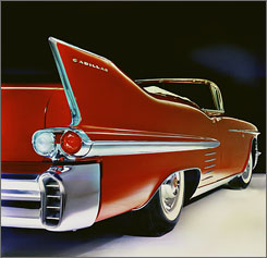 GM's future once looked as bright as the chrome and as big as the fins on this 1958 Cadillac Series 62 Convertible.