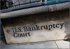 """People are coming to us in much worse shape than they used to be,"" a credit counseling official says. Bankruptcies are on the rise as jobs vanish."