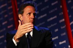 Treasury Secretary Timothy Geithner discusses the Obama administration's efforts to repair and strengthen financial systems.