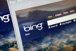 Microsoft's Bing search engine has a more attractive look than Google's search page, and it holds its own in a head-to-head comparison. 