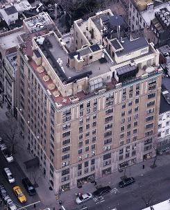 The building in midtown Manhattan in New York where Bernard Madoff and wife Ruth owned a penthouse apartment is seen in this file photo. 