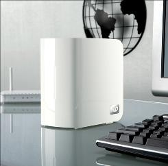 Western Digital's My Book World Edition II Network Attached Storage unit.