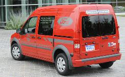 Don't own a store? Ford Transit Connect, a nifty delivery vehicle, may make you want to open one.