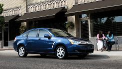 Ford Focus is the No.1 seller in the cash-for-clunkers program.