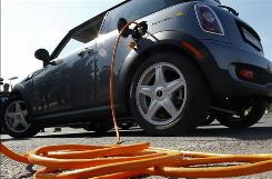 The Mini E electric vehicle is one such vehicle made in Germany.