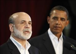 President Obama nominated Fed chief Ben Bernanke to a second term.