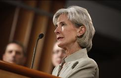 "Health and Human Services Secretary Kathleen Sebelius vowed to ""look for new ways to prevent fraud before it happens."""