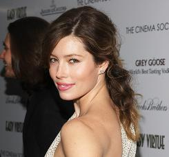 Anti-virus firm McAfee ranked Jessica Biel as one of the most dangerous celebrities.