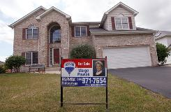 A home for sale on Aug. 21 in Bollingbrook, Ill. The first-time home-buyer tax credit expires soon.