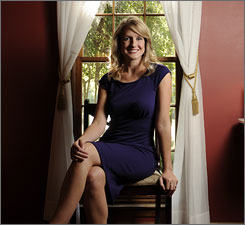 Kate Jacobus, 24, started investing in her 401(k) plan in July 2008. Her portfolio has since risen more than 17%.