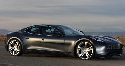 The Fisker Karma is a $87,900 plug-in luxury sports sedan, which allows motorists to drive gas-free for 50 miles.