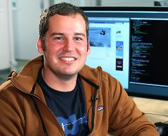 Scott Marlette is the Facebook engineer who oversees the site's photo-sharing application.