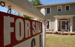 A home in Pasadena, Calif., is on the market. Sales fell in August despite lower interest rates.