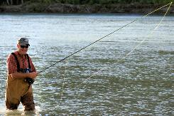 Johnny Morris is happiest with a fly rod in hand. He knows how to design stores that can become their states' top tourist attractions.
