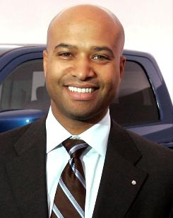 Ralph Gilles, newly named president and CEO of Dodge Car