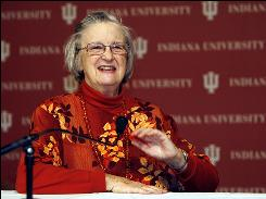 Elinor Ostrom said people discouraged her from seeking a Ph.D. when she applied for graduate school.