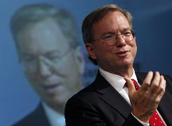 Google CEO Eric Schmidt says the company plans to start beefing up its engineering staff.