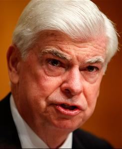 Committee Chairman Sen. Christopher Dodd, D-Conn., speaks during a hearing before the U.S. Senate Banking, Housing and Urban Affairs Committee