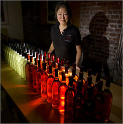 "Miyoko Yamakawa launched a flavored vodka business two years ago. ""I didn't know anything about this business,"" she says, so she turned to a local Small Business Development Center for help."