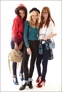 J.C. Penney's new junior brand features designs from Mary-Kate and Ashley Olsen.