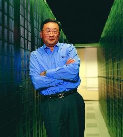 John Chen is CEO of giant California-based software company Sybase.