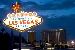 Las Vegas will likely continue to feel the effects of the recession for several months after main street recovers.