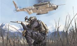 A scene from Call of Duty: Modern Warfare 2.