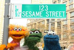 Hasbro, the nation's second largest toy maker, is permitted to make the Sesame Street merchandise for 10 years.