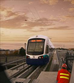 Seattle's Sound Transit finished an extension of its light-rail line to Seattle-Tacoma International Airport.