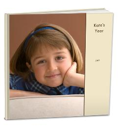This is a standard photo book from Shutterfly.