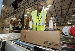 Reginald Armistead Jr. works at Amazon.com, whose revenue is growing.