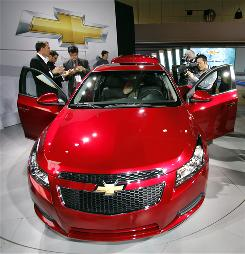 The Chevvy Cruze is due out later this year.