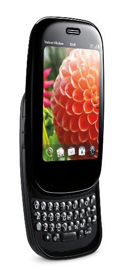 """Palm Pre Plus has a clever finger """"gestures"""" navigation design."""