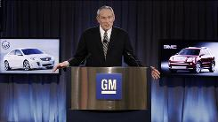 """I was both honored and pleased to accept this role,"" said GM CEO and Chairman Ed Whitacre at the a news conference."
