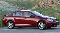 The 2009 Chevrolet Cobalt SS Sedan.