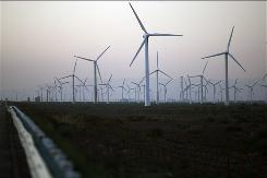 China is aiming to increase its wind capacity sixfold in 10 years.