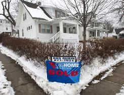 The median sales price for previously-owned homes rose in 67 out of 151 metropolitan areas in the fourth quarter of 2009.