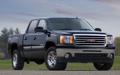 A different grille and a small badge on the front fenders set the All Terrain apart from other Sierra models.