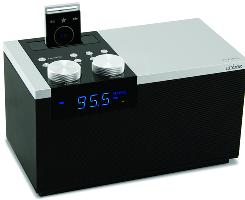 Abbee is a tabletop music system that records FM radio without the ads and DJ talk.