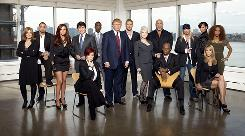Donald Trump's latest batch of celebrities include ex-Gov. Rod Blagojevich, comedian Sinbad, Darryl Strawberry and Cyndi Lauper, to name a few.