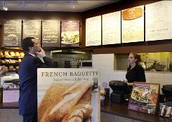 Panera will become the first chain to post calories on menus nationally.