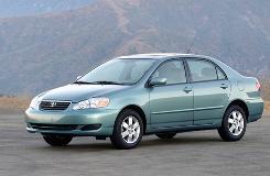 A 2007 Toyota Corolla.