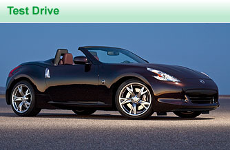 The redone Nissan 370Z convertible is about 4 inches shorter and 1.5 inches wider than its predecessor for a beefier, more stable stance.