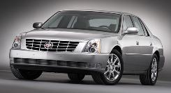 The 2007 Cadillac DTS is the top-rated vehicle in the entire J.D. Power study.