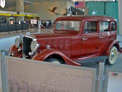 Baltimore/Washington has teamed with the National Museum of Crime & Punishment to host the getaway car owned by notorious bank robber John Dillinger. The 1933 Essex Terraplane is on display in Southwest Airlines' Terminal A/B.