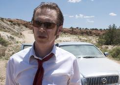 Steve Buscemi in a scene from IndieVest's first movie, Saint John of Las Vegas.