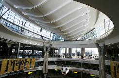 The O.R. Tambo International Airport in Johannesburg has a new Central Terminal.