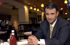 Casino Jack and the United States of Money is about disgraced lobbyist Jack Abramoff, shown here in March 2004 in Washington, D.C.
