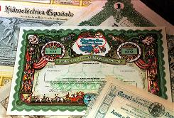 A 1960s vintage stock certificate issued by Ringling Bros.-Barnum & Baily Circus.