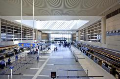 The remodel of the Tom Bradley International Terminal at LAX took three years.